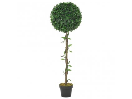 Umělá rostlina vavřín s květináčem zelená 130 cm