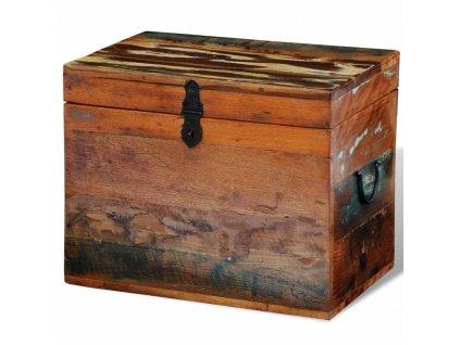 Úložný box recyklované masivní dřevo