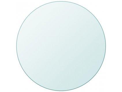 Stolní deska z tvrzeného skla kulatá 400 mm