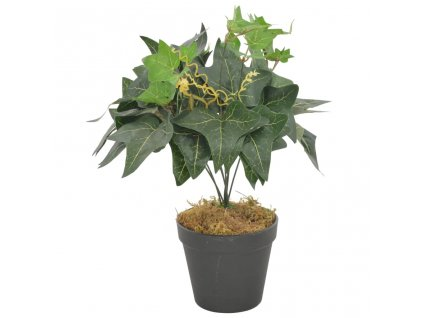 Umělá rostlina břečťan s květináčem zelená 45 cm