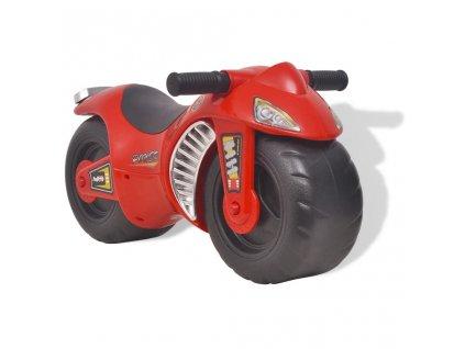 Odrážedlo motorka plastové červené
