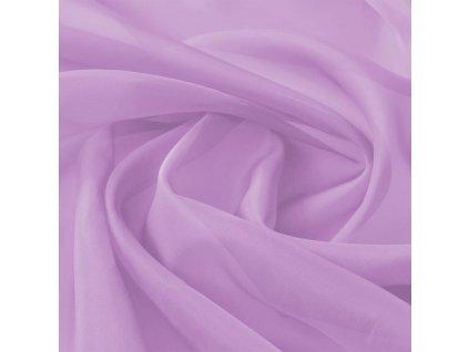 Voálová tkanina, 1,45x20 m, fialová