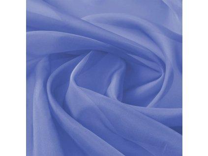 Voálová tkanina, 1,45x20 m, královská modř