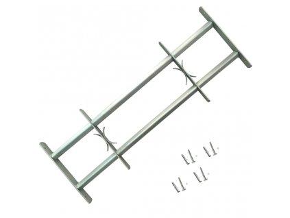 Nastavitelná bezpečnostní okenní mříž se 2 příčlemi 1000–1500 mm