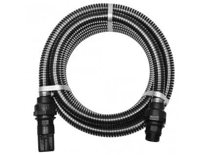 Sací hadice s konektory 4 m 22 mm černá