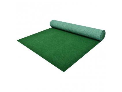 Umělá tráva s nopky PP 20 x 1 m zelená