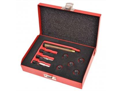 sada na opravu závitů žhavících svíček, 9 kusů M8 x 1,00 mm
