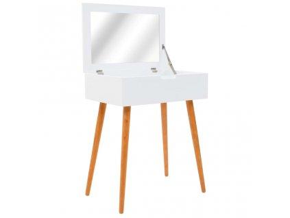 Toaletní stolek se zrcadlem MDF 60 x 40 x 75 cm