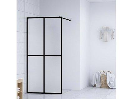 Zástěna do průchozí sprchy tvrzené sklo 80 x 195 cm