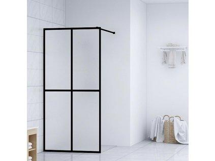 Zástěna do průchozí sprchy tvrzené sklo 90 x 195 cm