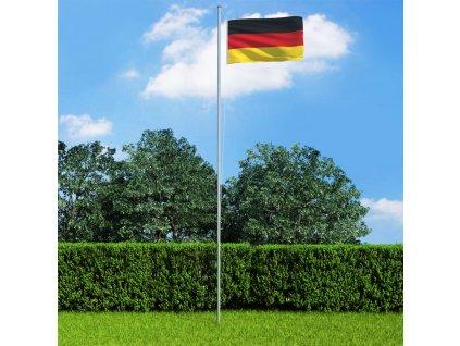 Německá vlajka 90 x 150 cm