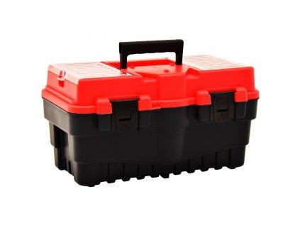 Box na nářadí plast 462 x 256 x 242 mm červený