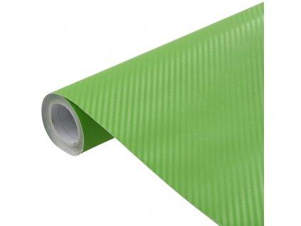 Fólie na auto 3D matná zelená 200 x 152 cm