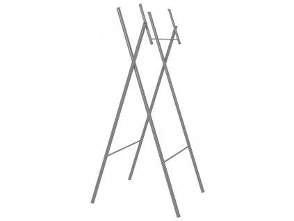 Skládací nohy ke stolu stříbrné 45x55x112 cm pozinkovaná ocel