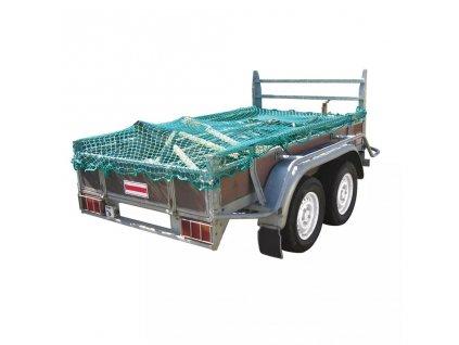 ProPlus Síť na přívěsný vozík s elastickými provazy 1,50x2,70 m