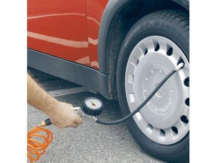 Manometr pro pumpu na pneumatiky Einhell