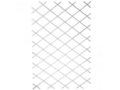 Nature Zahradní treláž 50 x 150 cm, PVC, bílá 6040701