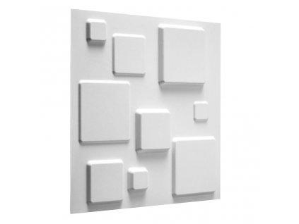 WallArt 3D nástěnné panely čtverce 12 ks GA-WA09