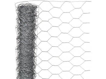 Nature Plotové pletivo šestiúhelníkové 0,5x2,5 m 25mm pozinkovaná ocel