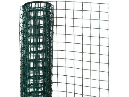 Nature Drátěné pletivo čtverce 0,5x2,5m 13 mm poplastovaná ocel zelené