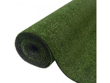 Umělá tráva, zelená, 1,5x10 m/7–9 mm