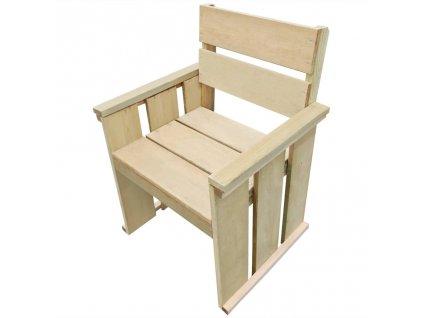Zahradní židle impregnované borové dřevo