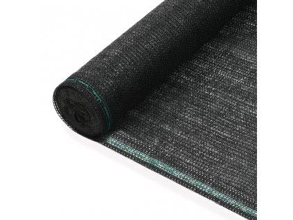 Tenisová zástěna černá 1 x 25 m HDPE