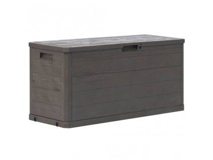Zahradní úložný box hnědý 280 l