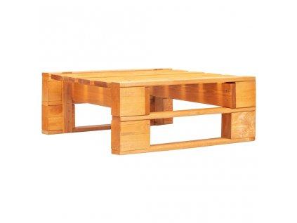 Zahradní taburet z palet dřevo medově hnědý