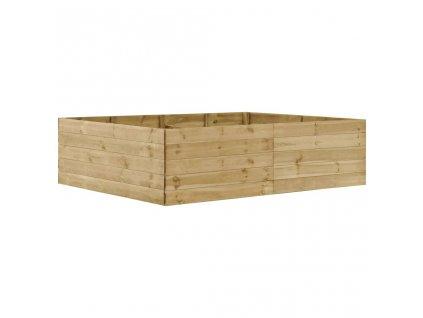 Zahradní vyvýšený záhon 200 x 150 x 54 cm impregnovaná borovice