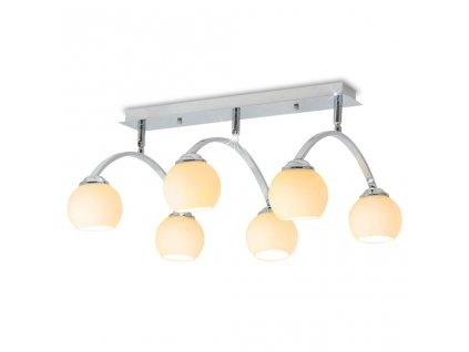 Stropní svítidlo se 6 žárovkami G9 240 W