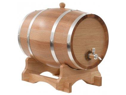 Soudek na víno z masivního dubu s pípou 12 l