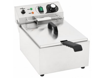Elektrická fritéza nerezová ocel 10 l 3 000 W