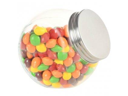 Skleněné dózy na bonbóny 6 ks 10,5 x 8 x 10,3 cm 480 ml