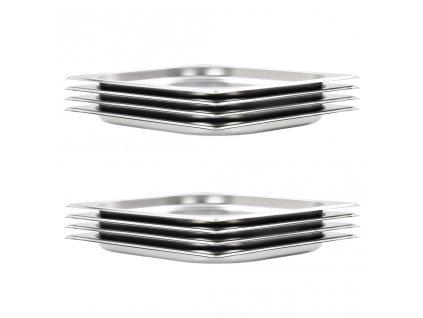Gastronádoby 8 ks GN 1/2 20 mm nerezová ocel