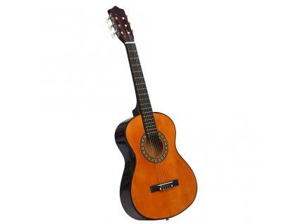 Klasická kytara pro začátečníky a děti 1/2 34'' basswood