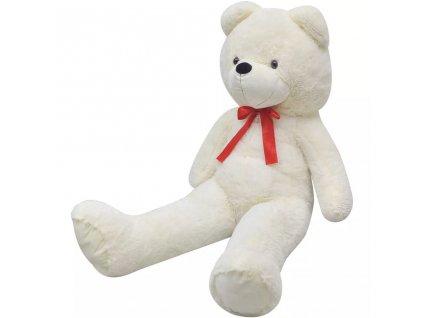 Měkký plyšový medvídek XXL bílý 85 cm