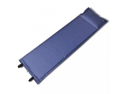 Modrá samonafukovací karimatka 185 x 55 x 3 cm ( pro jednoho )