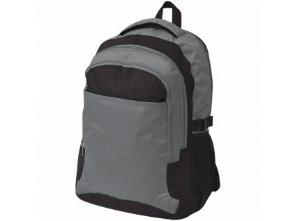 Školní batoh 40 l černo-šedý