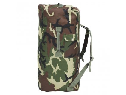 Sportovní taška v army stylu 85 l maskáčová