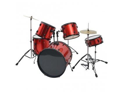 Souprava bicích ocel pro dospělé s práškovým lakem červená