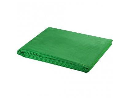 Fotopozadí bavlněné zelené 300 x 300 cm klíčovací