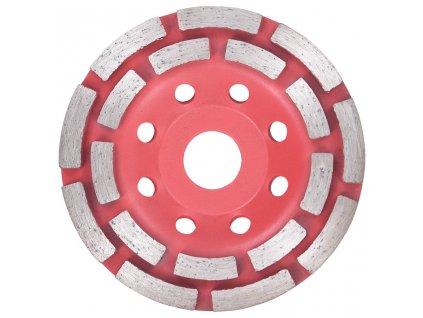Diamantový brusný talíř s dvojitou řadou 115 mm