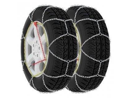 Sněhové řetězy na pneumatiky 2 ks 9 mm KN60