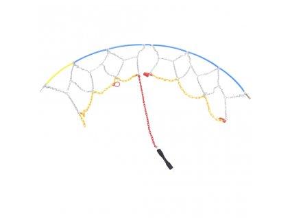 Sněhové řetězy na pneumatiky 2 ks 9 mm KN90