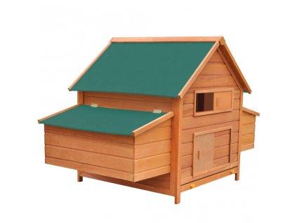 Kurník dřevěný 157 x 97 x 110 cm