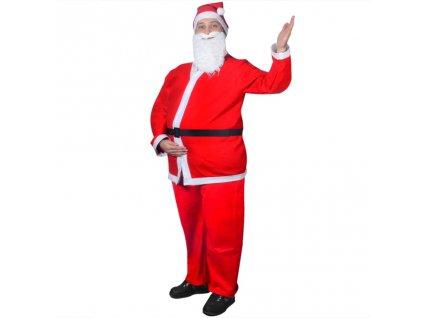 Santa Claus vánoční kostým, sada