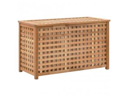 Truhla na prádlo 77,5 x 37,5 x 46,5 masivní ořechové dřevo
