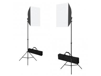 Profesionální studiová světla 2 ks 40 x 60 cm ocel černá