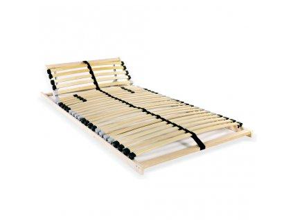 Rošt postele s 28 lamelami 7 zón 70 x 200 cm